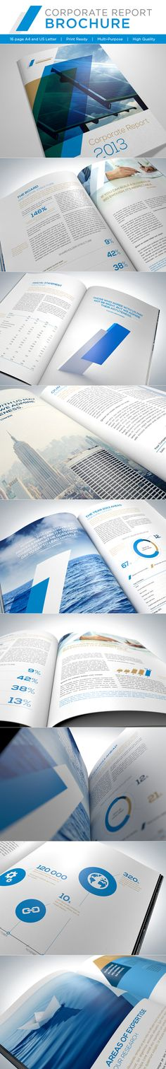 Corporate Report Brochure Design