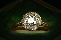 vintage engagement rings unique wedding jewelry 1890s late victorian cluster 1. This will do