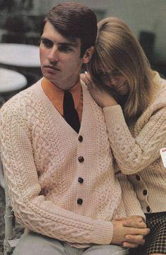 Aran Cardigan Knitting Pattern