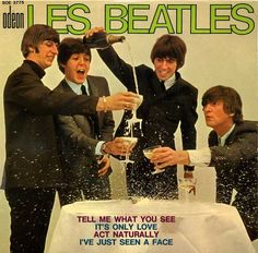 The Beatles - Tell Me What You See / It's Only Love / Act Naturally / I've Just Seen A Face