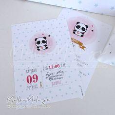 Προσκλητήριο Βάπτισης Panda girl Panda, Cover, Floral, Wedding, Art, Valentines Day Weddings, Art Background, Flowers, Kunst