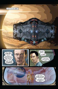 Star Trek IDW Publishing Comic Book - Khan #4 Khan Noonien Singh, Star Trek Spock, Secret Space, Star Trek Into Darkness, Next Chapter, S Star, Comic Books, Things To Come, Benedict Cumberbatch