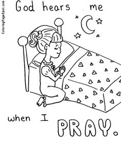 2 thessalonians christs return is anticipated paul asked the thessalonians to pray god hears me when i pray coloring page