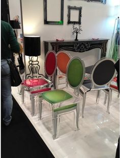 Look at these chairs...  Fab!