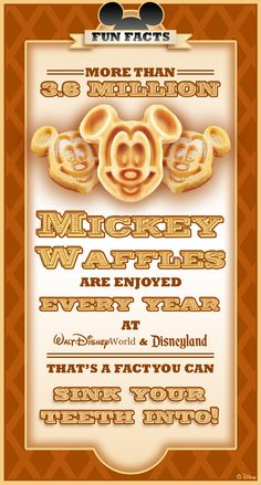Every Day is 'Mickey Waffle' Day at Disney Parks