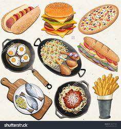 pizza vector free - Google Search
