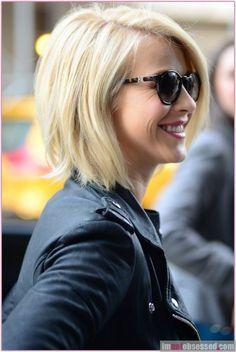 Haircuts Ideas : Julianne Hough -cute bob https://greatmag.net/beauty/haircuts/haircuts-ideas-julianne-hough-cute-bob/