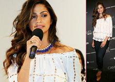 Camila Alves Hosts Macy's Fashion Show: Appreciates a Good Thrift Store -                                     Showing off her gorgeous style while playing hostess,  Camila Alves worked a fashion show at Macy's at The Domain in Austin, Texas on Saturd
