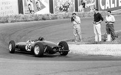 1961 Belgian GP, Spa : Jim Clark, Lotus-Climax 21 #34, Team Lotus, Qualifying. (ph: © Sutton)