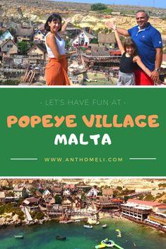 Οικογενειακή εκδρομή στο Popeye Village στη Μάλτα