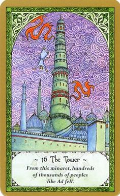 The Tower - Rumi Tarot