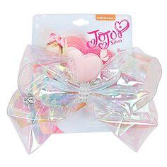 6 Transparent Rainbow JoJo Bow With Clip Girls Rhinestone Bowknot Hair Bows Cute Pompom Holder For Kid Hair Accessories Jojo Hair Bows, Jojo Bows, Rainbow Bow, Rainbow Hair, Jojo Siwa Outfits, Jojo Siwa Bows, Its Jojo Siwa, Jojo Siwa Birthday, Birthday List