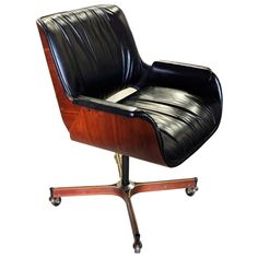 george mulhauser mr series executive chair for plycraft 1960s brilliant furniture office chair