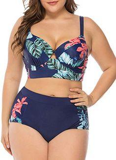 2018 2tlg Damen Push-Up Bikini Set Badeanzug Padded Bademode Schwimmanzug PD