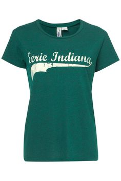 Eerie Indiana Tee by Project Social T in Emerald - from Topshop My Escape, My Wardrobe, Indiana, Tees, Shirts, Fashion Show, Topshop, My Style, Mens Tops