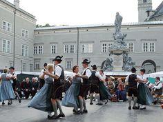Salzburger Rupertikirtag Passport, September, Street View, City, Cities, City Drawing