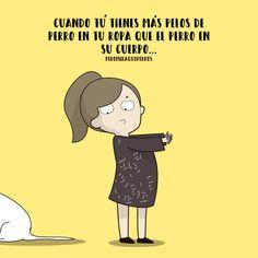 Siempre pasa.... ArtBy Peromiraqueperros #perros #perro #mascotas #veterinarios #peromiraqueperros