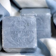 Blue French Soaps.