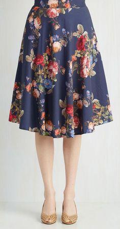 Dedicated to Demure Skirt
