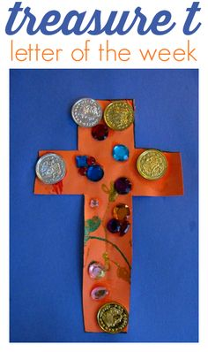 Letter of the week craft for kids.