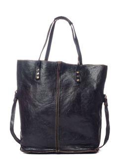 Campomaggi Leather Tote in Black