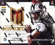 2013 Panini Momentum Football Cards Hobby Box - New! $168.95