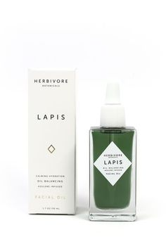 Lapis Lazuli, a favorite stone of ancient Egypt, is known for its gorgeous deep blue/green color. Blue tansy and blue yarrow oils contain a component called Azulene which acts as a powerful anti infla Bottle Packaging, Cosmetic Packaging, Beauty Packaging, Brand Packaging, Design Packaging, Pretty Packaging, Facial Oil, Grafik Design, Bottle Design