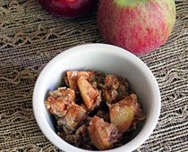 Apple Crisp (minus canola oil or substitute coconut oil)