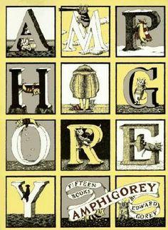 El abecedario macabro de Edward Gorey