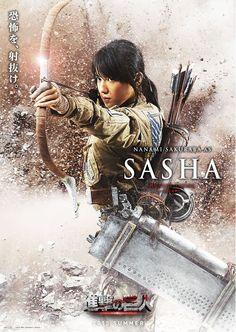 "Attack on Titan / Shingeki no Kyojin Live Action Cast: Nanami Sakuraba as Sasha Blouse ""Hungry Sniper"""