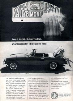 1965 MGB.