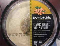 ALERT: Multiple Hummus Products Sold at Walmart and Target Recalled