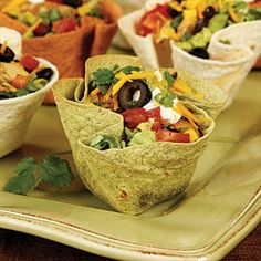 Healthy Mexican Chicken Taco Salad | Chicken Taco Salad Recipe | MyRecipes.com