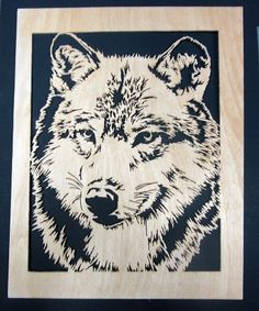 Wolf - Scrappile Scrolling - User Gallery - Scroll Saw Village