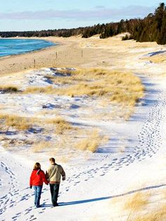 Door County in winter....click to read why we love visiting in this season!