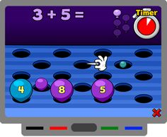 Math game for the Smartboard