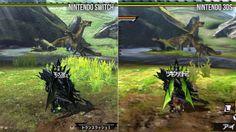 Vídeo compara os gráficos de Monster Hunter XX no 3DS e no Switch - EExpoNews