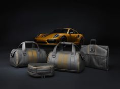 Exclusive buyers can also add a Porsche Design luggage set