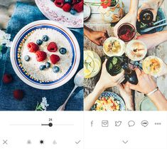 Foodie, a dedicated camera app for food photos which offers users a simple and ultimate way of functional experience, focusing on true nature food through beautiful filters. Best Apps, Food Photo, Acai Bowl, Breakfast, Photos, Acai Berry Bowl, Morning Coffee, Pictures, Food Photography