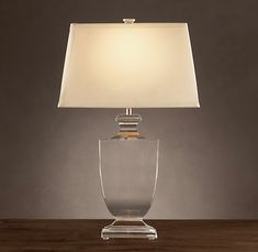 i love crystal lamps.