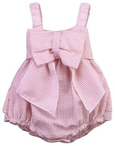 SALE 45% OFF + FREE SHIPPING! SHOP Our Pink Bow Romper for Baby & Toddler Girls