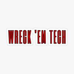 Texas Tech, Ems, Cricut, Stickers, Random, Printed, Awesome, Gifts, Products