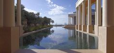 Searching for the hidden gem of travel resorts? Discover Amanzoe in Porto Heli, Greece. Best All Inclusive Resorts, Hotels And Resorts, Luxury Resorts, Resort 2015, Resort Spa, Greece Resorts, Stunning View, Luxury Travel, Euro Travel