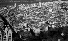 Vista áerea da região antes das demolições dos imóveis Arquivo Geral da Cidade do Rio de Janeiro