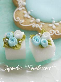 Tea Party ~ pretty sugar cubes