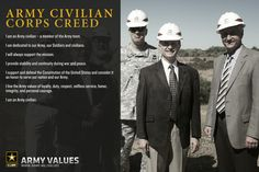Army Civilian Corps Creed  www.army.mil/values