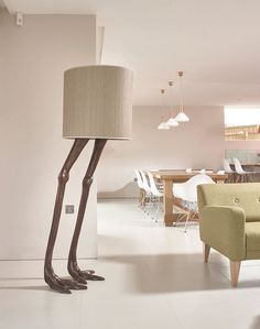 Temple_&_Ivy_Strutio-Ostrich_legs_floor_lamp_Bronze_finish_and_bamboo_shade