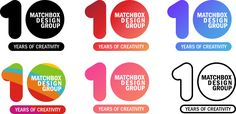 Get the behind-the-scenes look at all the logos we rejected before landing on the perfect Matchbox 10 logo to represent our 10th anniversary.
