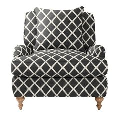 Custom Upholstered Miramar Chair in Designer Fabrics   Serena & Lily