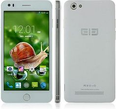 Elephone P6i MTK6582 Quad Core 1.3GHz Android 4.4 5.0 inch 960x540 IPS 1GB RAM 4GB ROM 13MP 2100MAH OTG Smartphone (Silver) - For Sale